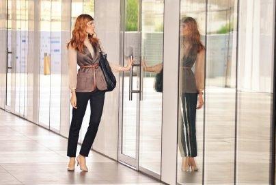 Looking through the Glass Door